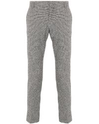 Entre Amis - Cropped Tailored Trousers - Lyst
