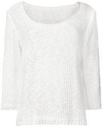 Charlott - Fine Knit Jumper - Lyst