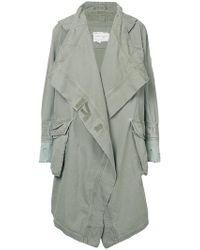 Greg Lauren - Oversized Parka Coat - Lyst
