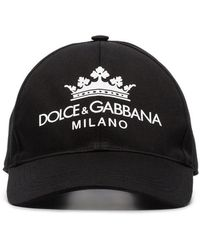 f391e59f8e00cf Men's Dolce & Gabbana Hats - Lyst
