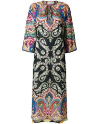 Etro - Mixed Print Beach Cover-up - Lyst