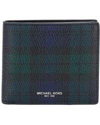 Michael Kors - Tartan Print Wallet - Lyst