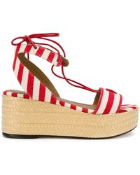 Sonia Rykiel | Striped Platform Sandals | Lyst