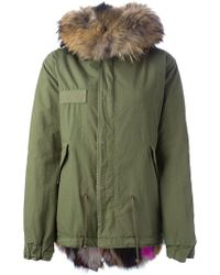 Mr & Mrs Italy - Fox Fur Lined Parka - Lyst
