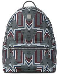 MCM - Graphic Print Backpack - Lyst