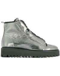 Kennel & Schmenger - Metallic Hi-top Sneakers - Lyst