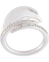 Shaun Leane - 'white Feather' Diamond Ring - Lyst