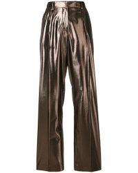 Alberta Ferretti - Wide Leg Trousers - Lyst