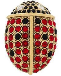 Sonia Rykiel - Rhinestone Ladybird Pin - Lyst