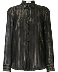 Saint Laurent - Buttoned Shirt - Lyst