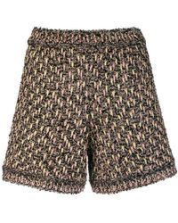 M Missoni - Black Shorts - Lyst