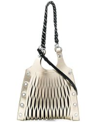 Sonia Rykiel - Slit Detail Chain Shoulder Bag - Lyst
