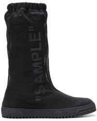 Off-White c/o Virgil Abloh - Sample Boots - Lyst