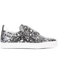 Pierre Hardy - Slider Printed Slip-on Sneakers - Lyst