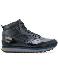 Baldinini - Logo Plaque Hi-top Sneakers - Lyst