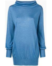 Eleventy - Knitted Sweatshirt - Lyst