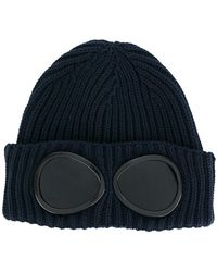 C P Company - Goggle Beanie - Lyst