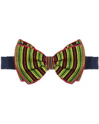 Jupe by Jackie - Striped Bow Tie - Lyst