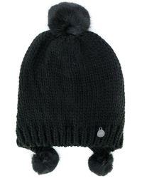 Urbancode - Pompom Hat - Lyst