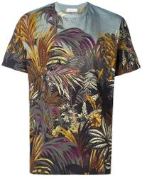479bd4d2 Etro - Jungle Print T-shirt - Lyst