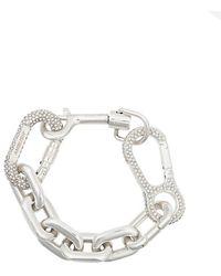 Ambush - Silberarmband mit Kristallen - Lyst