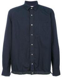 Sacai - Drawstring Hem Shirt - Lyst