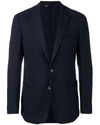 Dell'Oglio - Fitted Suit Jacket - Lyst