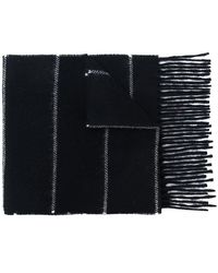 AMI - Striped Scarf - Lyst