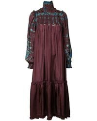 Raquel Allegra - Printed Tent Dress - Lyst
