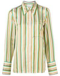 3.1 Phillip Lim - Stripe Patterned Shirt - Lyst