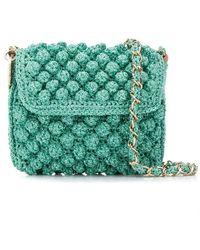 M Missoni - Pompom Knit Crossbody Bag - Lyst