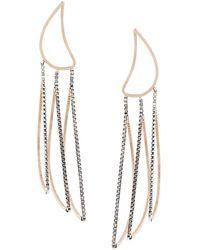 By Boe - Petal Outline Earrings - Lyst