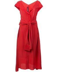 Sies Marjan - Waist-tied Midi Dress - Lyst
