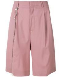 Cmmn Swdn - Pleated Chino Shorts - Lyst