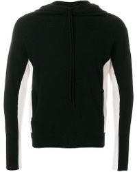 Unconditional - Two Tone Knitted Hoodie - Lyst