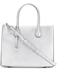 MICHAEL Michael Kors - Metallic Tote Bag - Lyst