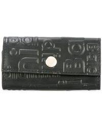 Baldinini - - Embossed Logo Keyring - Unisex - Leather - One Size - Lyst