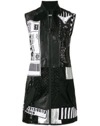 KTZ - Patchwork Bomber Dress - Lyst