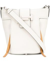Tod's - Double T Bucket Bag Small - Lyst