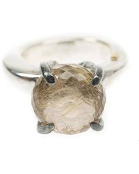 Rosa Maria - Quartz Ring - Lyst