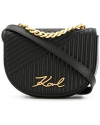 Karl Lagerfeld - Quilted Belt Bag - Lyst