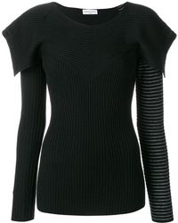 Sonia Rykiel - Structured Sweater - Lyst