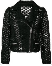 John Richmond | Open-star Biker Jacket | Lyst