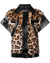 Givenchy - Chaleco con motivo de leopardo - Lyst