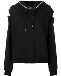 Marco Bologna - Embellished Distressed Hoodie - Lyst