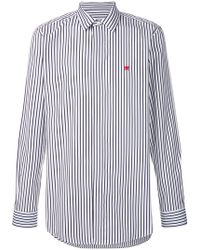 Givenchy - Striped Long-sleeve Shirt - Lyst