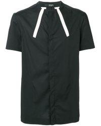 Tom Rebl - Fitted Mandarin Shirt - Lyst