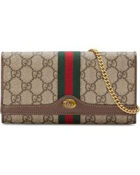 Gucci - Ophidia GG Chain Wallet - Lyst