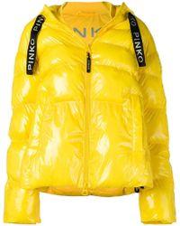 Pinko - Puffer Padded Jacket - Lyst