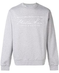 Martine Rose - Oversized Fit Sweatshirt - Lyst